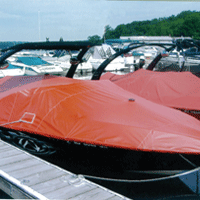 boat cover with Aqualon