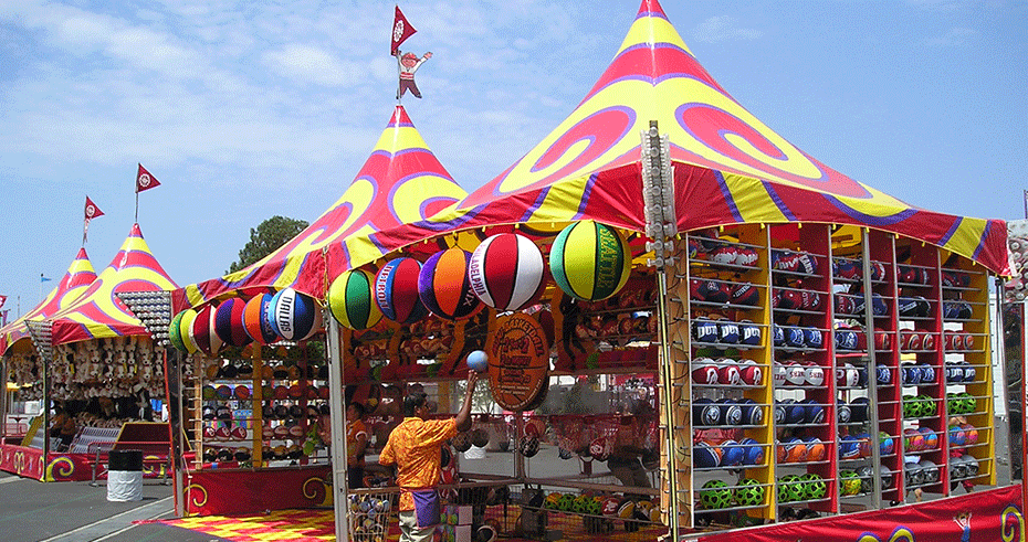 Waterloo tent at fair