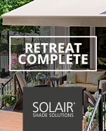 Solair Shade Solutions Retreat Complete