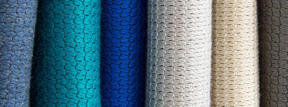 Sunbrella Conture fabric rolls