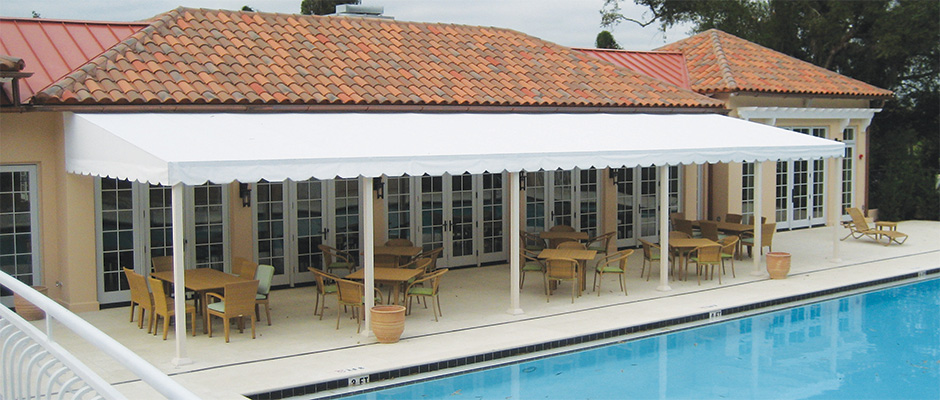 Weathertyte awning fabric