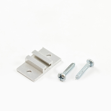 Image for Aluminum Track #6200 Ceiling Mounting Bracket #6285 Part 2-55 from Trivantage