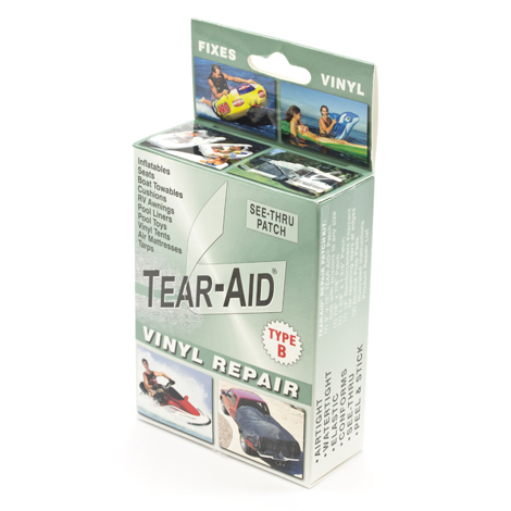 Image for Tear-Aid Retail Patch Kit Vinyl Type B 20 Pack with Display from Trivantage