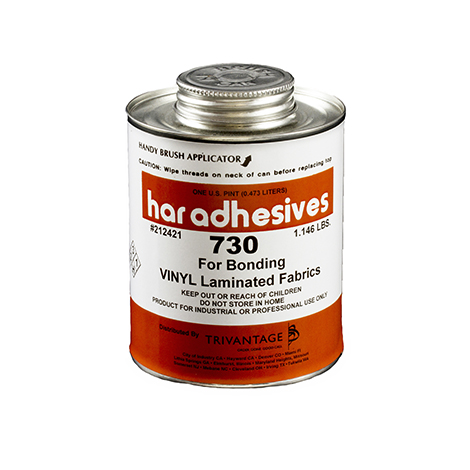 Image for HAR Bonded Vinyl-Laminate Adhesive 730 1-pt Brushtop Can from Trivantage