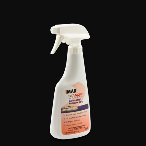 Image for IMAR Stamoid Marine Vinyl Protective Spray #602 16-oz Spray Bottle from Trivantage