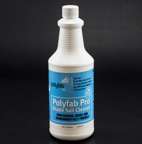 Image for Polyfab Pro Shade Sail Cleaner 32-oz Bottle from Trivantage