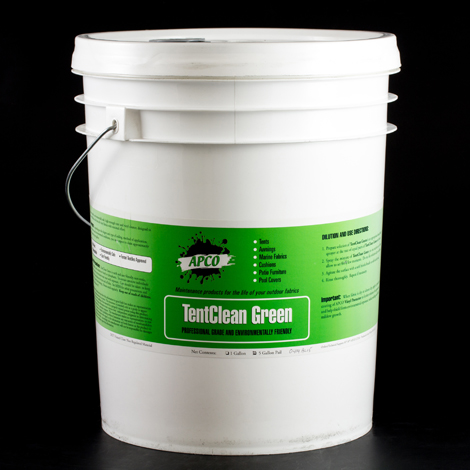 Image for APCO TentClean Green Concentrate 5-gal from Trivantage