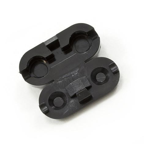 Image for RollEase Plastic Chain Connector Black from Trivantage