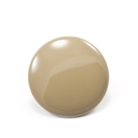 Image for DOT Durable Enamel Button 93-X2-10128-9004-1V Heather Beige 100-pk from Trivantage