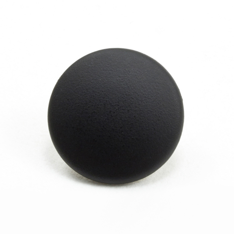 Image for DOT Durable Enamel Button 93-X8-10128-1534-1V Dull Black 100-pk from Trivantage