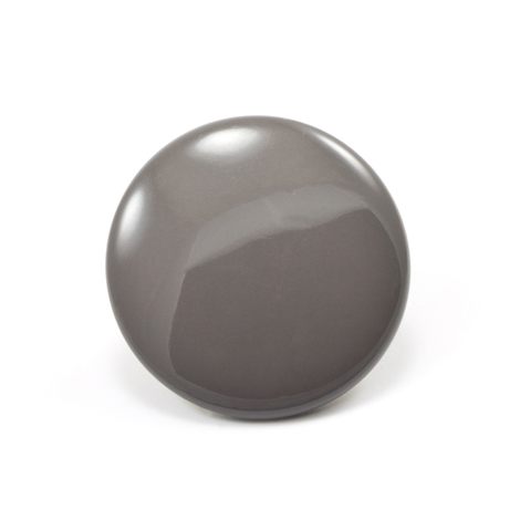Image for DOT Durable Enamel Button 93-X8-10128-9011-1V Shingle Grey 100-pk from Trivantage