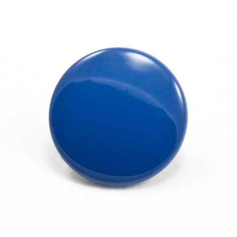 Image for DOT Durable Enamel Button 93-X8-10128-9012-1V Ranch Blue 100-pk from Trivantage