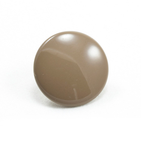 Image for DOT Durable Enamel Button 93-X8-10128-9015-1V Burnt Sugar 100-pk from Trivantage
