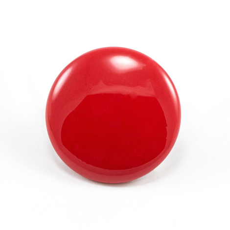 Image for DOT Durable Enamel Button 93-X8-10128-9030-1V Logo Red 100-pk from Trivantage