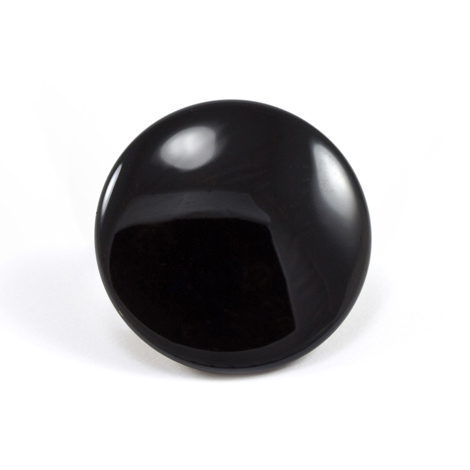 Image for DOT Durable Enamel Button 93-X2-10128-1339-2V Black 1000-pk from Trivantage