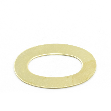 Image for DOT Common Sense Washer 91-BS-78505-1D Gilt Brass 100-pk from Trivantage