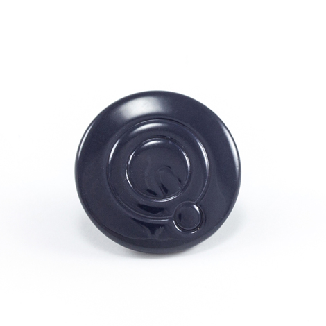 Image for Q-Snap Q-Cap Stainless Steel Type 316 Normal Shaft 4mm Navy Blue 100-pk from Trivantage
