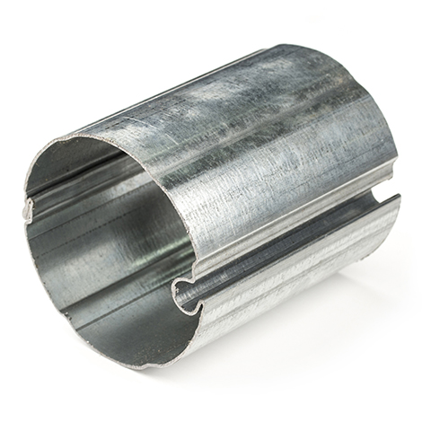 Image for Solair Roller Tube #TV332 24' x 78mm Galvanized Steel from Trivantage