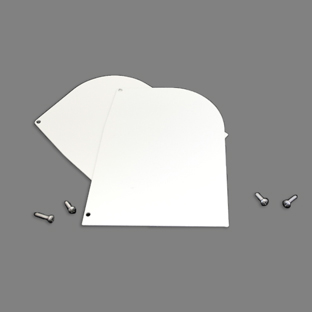 Image for Solair Hood End Cap White from Trivantage