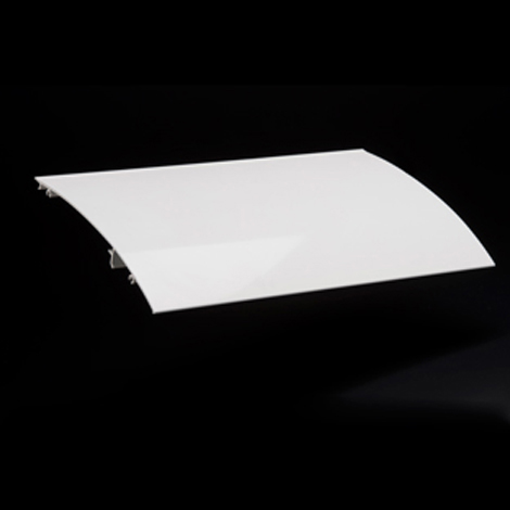 Image for Solair Pro Hood 16' Aluminum White from Trivantage