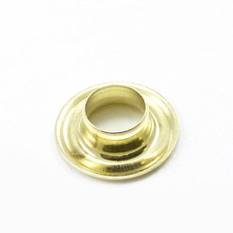 Image for Stimpson Self-Piercing Grommet without Washer #2 Brass 3/8