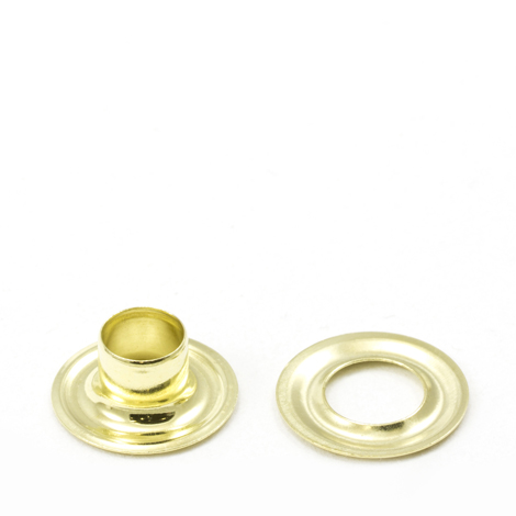 Image for Stimpson Grommet with Plain Washer #1J Brass 9/32