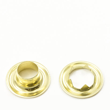 Image for Stimpson Grommet with Tooth Washer #4 Brass 1/2