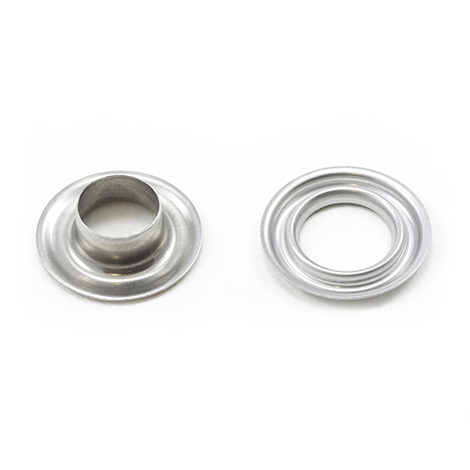 Image for Self-Piercing Grommet with Plain Washer #2 Stainless Steel 3/8