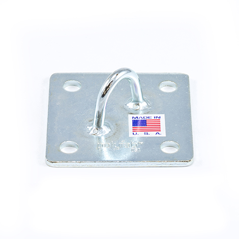 Image for Polyfab Pro Diagonal Eye Wall Plate #ZN-WPD-100 100mm from Trivantage