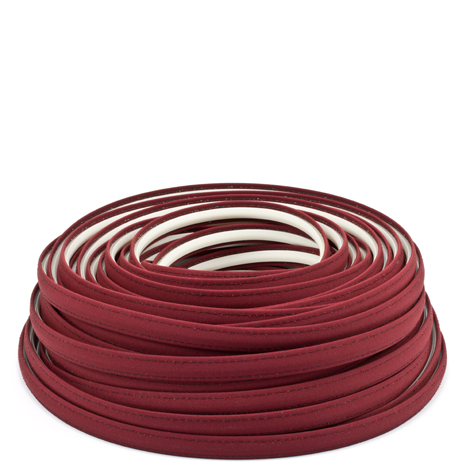 Image for Steel Stitch Sunbrella Covered ZipStrip with Tenara Thread #4631 Burgundy 160', Full Rolls Only from Trivantage