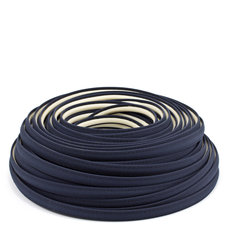 Image for Steel Stitch Sunbrella Covered ZipStrip with Tenara Thread #4626 Navy 160', Full Rolls Only from Trivantage
