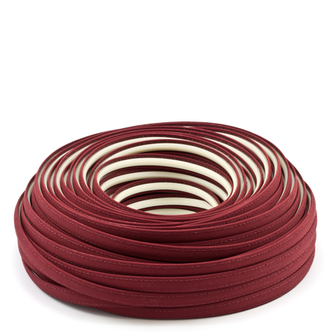 Image for Steel Stitch Sunbrella Covered ZipStrip #6031 Burgundy 160', Full Rolls Only from Trivantage