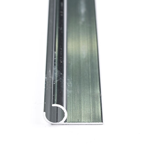 Image for Head Rod Molding #A15 Aluminum Bright Dipped Anodized 16' from Trivantage