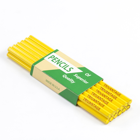 Image for Fabric Marking Pencils Yellow Lead 72-pk from Trivantage