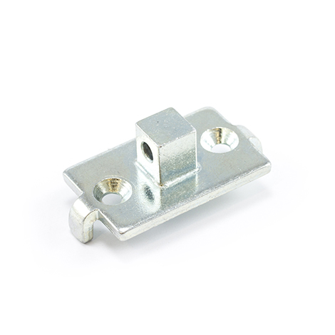 Image for Somfy LT Round Head Motor Bracket with Horizontal Pin Hole #6070523/9910017 (LAS) from Trivantage