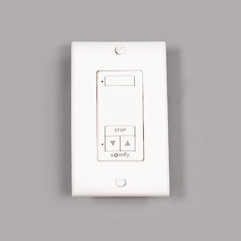 Image for Somfy DecoFlex 1-Channel WireFree RTS #1810897 White from Trivantage