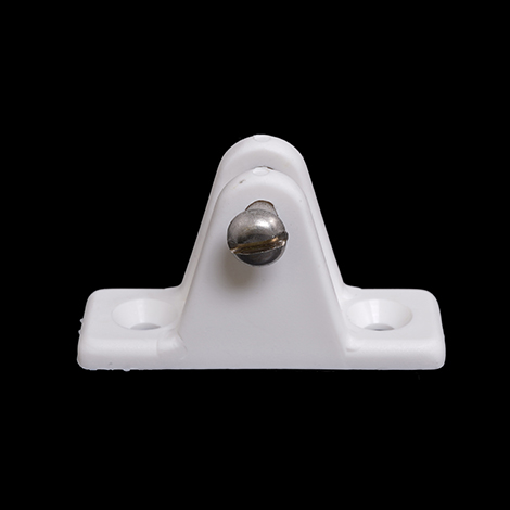 Image for Deck Hinge Large #7405 Nylon White from Trivantage