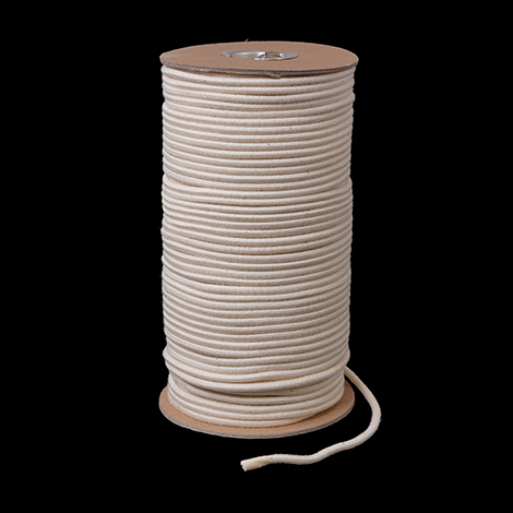 Image for Cotton Covered Elastic Cord #130 1/8