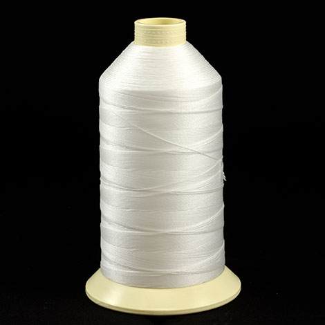 Image for Coats Ultra Dee Polyester Thread Soft Non Bonded Gral Anti-Static Finish Size 138 (#12) White (1 Each is 16oz) from Trivantage
