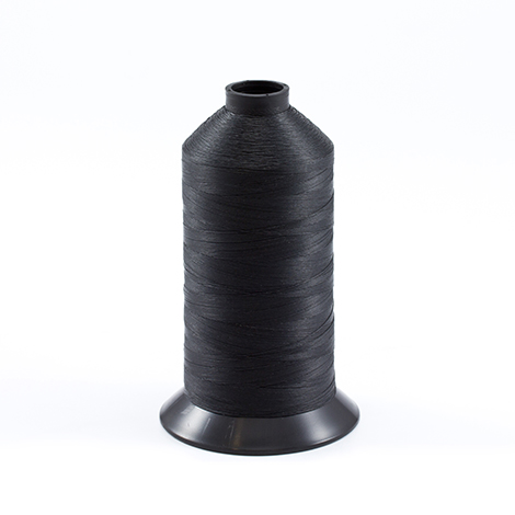Image for Aqua-Seal Polyester Thread Size 92+ / T110 Black 16-oz from Trivantage