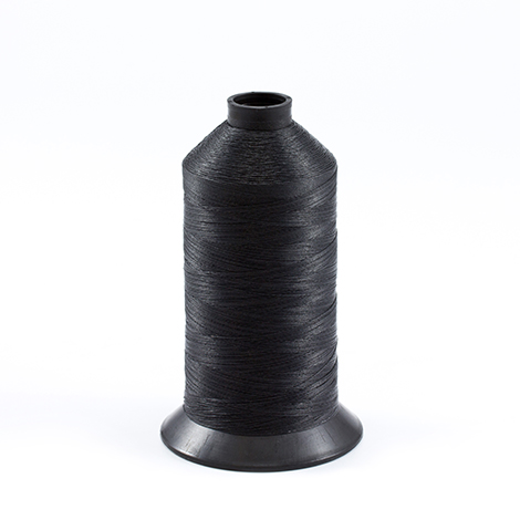 Image for Aqua-Seal Polyester Thread Size 138 / T135 Black 16-oz from Trivantage