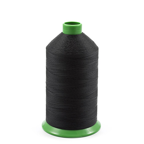 Image for A&E Nylon Bonded Thread Size 69 Black 16-oz from Trivantage