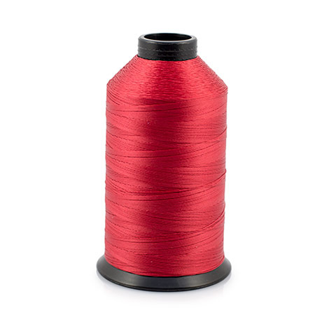 Image for PremoBond BPT 92 (Tex 90) Bonded Polyester Thread Red 8-oz from Trivantage