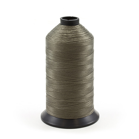 Image for Coats Polymatic Bonded Monocord Dacron Thread Size 125 Grey 16-oz from Trivantage