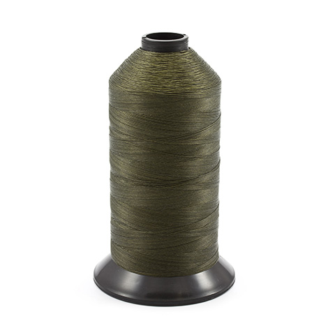 Image for Coats Polymatic Bonded Monocord Dacron Thread Size 125 Olive Drab 16-oz from Trivantage