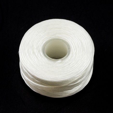 Image for Coats Polymatic Belbobs Bonded Monocord Dacron #G Size FF White 80-pk from Trivantage