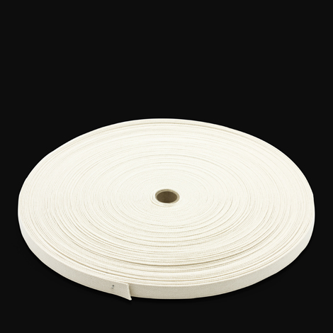 Image for Natural Untreated Class 1 Cotton Webbing Type II A 3/4