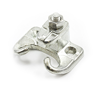 "Thumbnail Image for Head Rod Clamp with Stainless Steel Fasteners for Wood #4 Zinc Die-Cast 1/2"" Iron"
