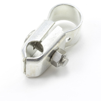 "Thumbnail Image for Tie Down Clamp #33 Plated Steel 3/4"" Pipe with Stainless Steel Fasteners"