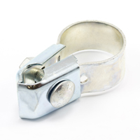 "Thumbnail Image for Tie Down Clamp Slip-Fit #35 Plated Steel 1-1/4"" Pipe with Stainless Steel Fasteners"